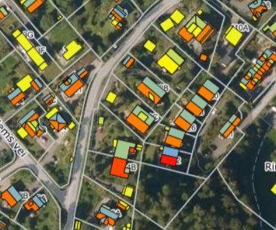 Sjekk solforholdene for din bolig i solkartet