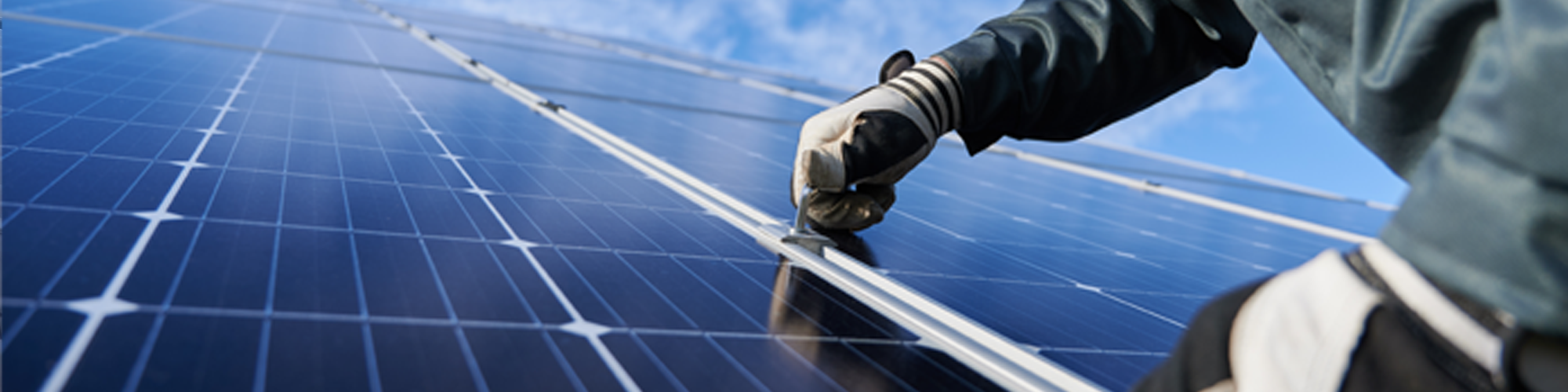 Montering av solcellepanel